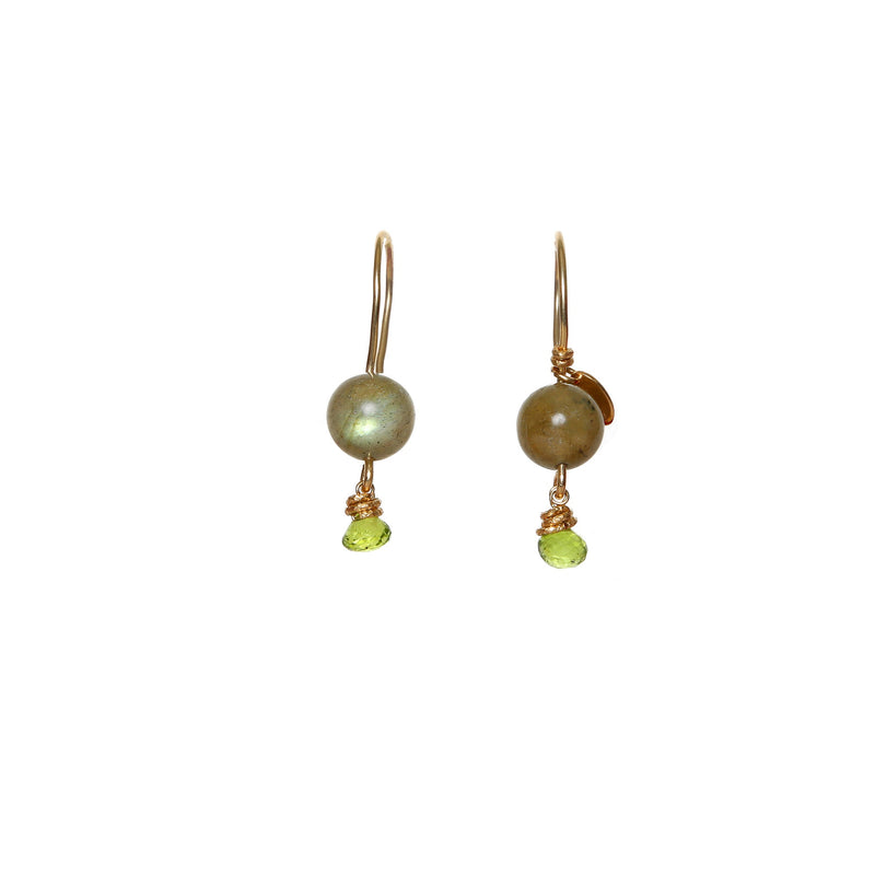 Katherine Small Green Earring