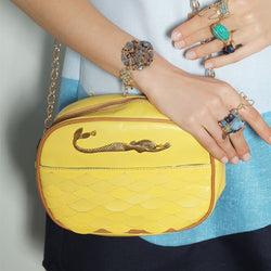 Mermaid Yellow Bag
