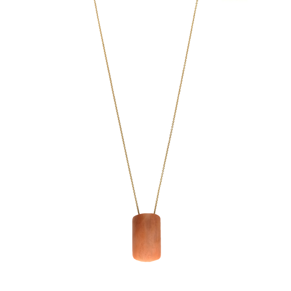 Natasha Pendant with chain - Calcite - TARBAY