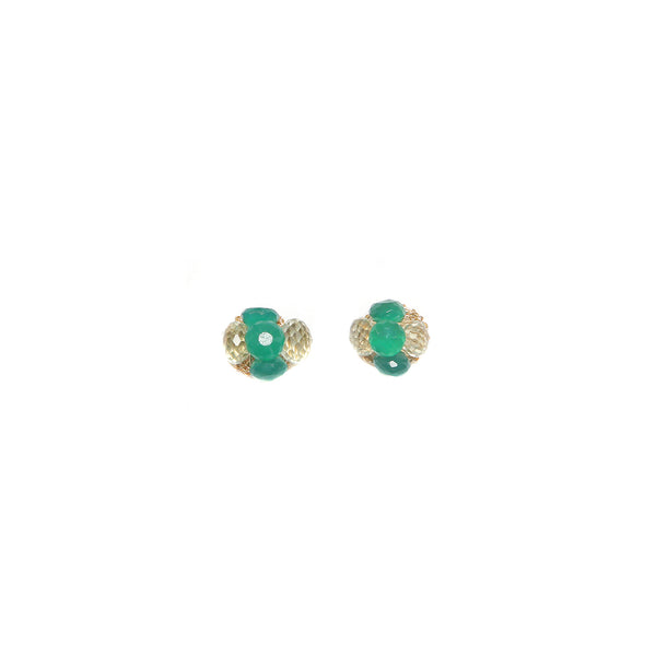 Coralia Green Earring