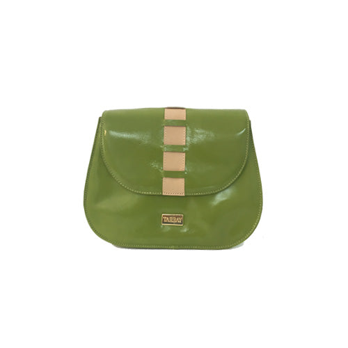 Ávila Green Clutch