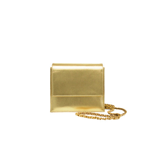 Palermo Clutch Bag - Gold
