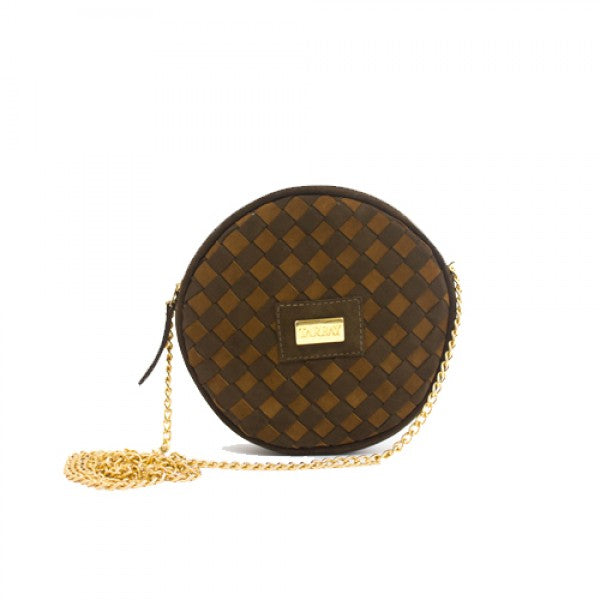 Pendulo Clutch Bag - Brown