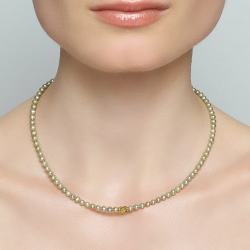 Margaritiferas Peridot Necklace