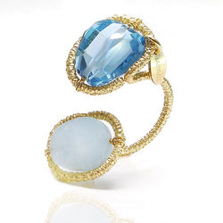 Serpentina Blue Ring - TARBAY