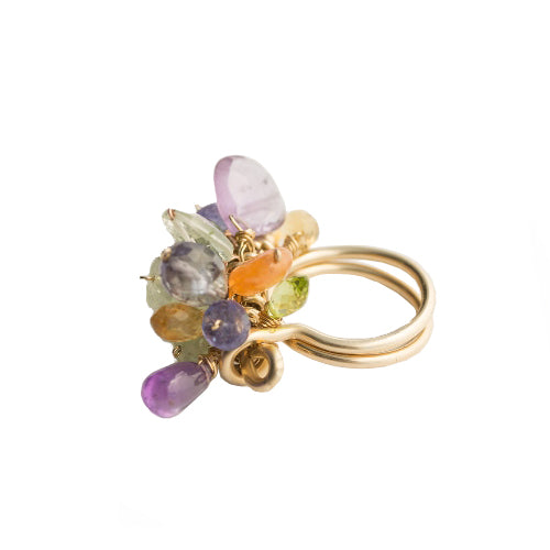 Simone Colored Ring