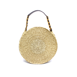 Warao Beige Clutch Bag