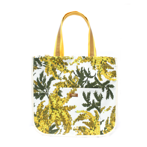Aguajina Yellow Tote Bag