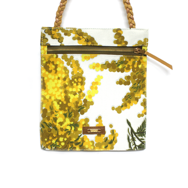 Aguajina Crossbody Bag - Yellow - TARBAY