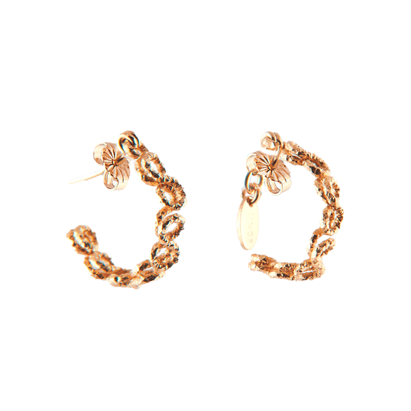 Beth Hoop Earrings (20mm) - Yellow Gold - TARBAY
