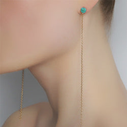 Turritella Long Earring