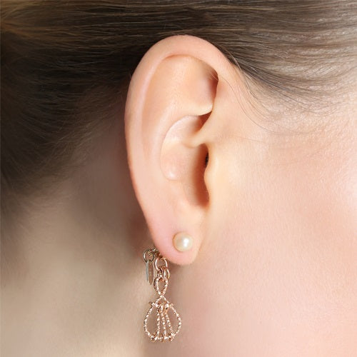 Alvania Earrings- Pearl - TARBAY