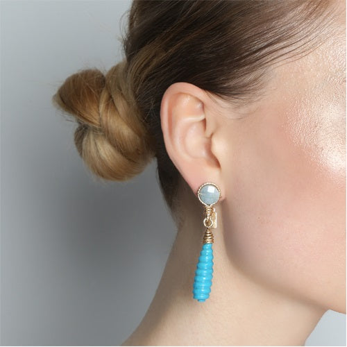 Turritella Short Earrings