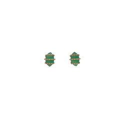 Constellation Green Earring