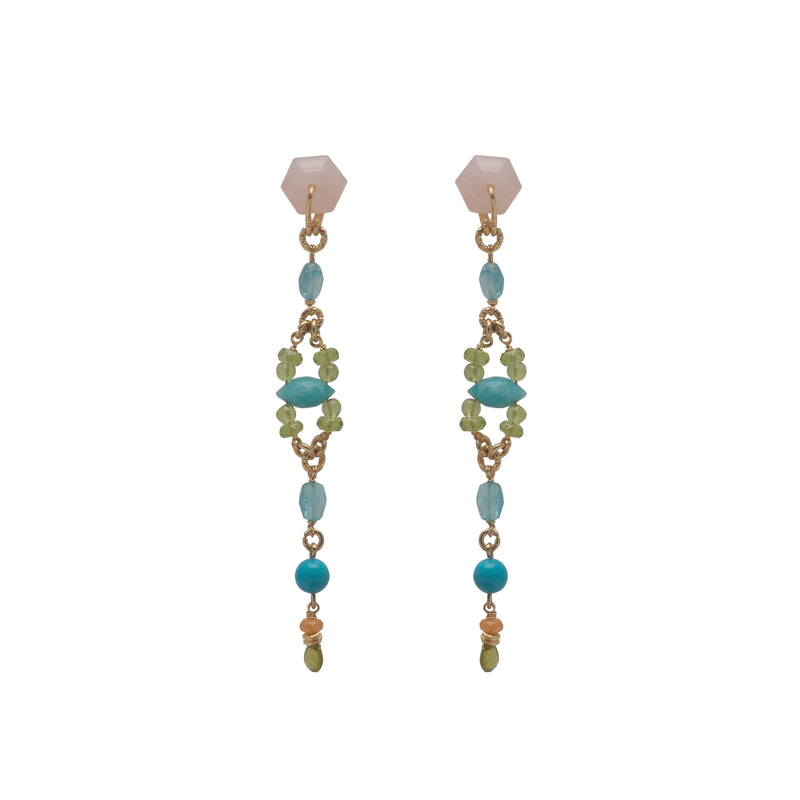 Ocean Drive Earrings (3mammographies)