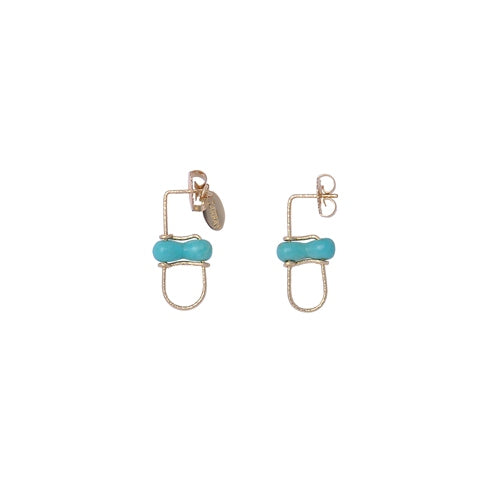 Fontainbleau Blue Earring