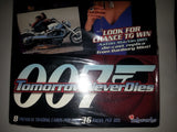 James Bond - 007 Tomorrow Never Dies Factory Sealed 36 Pack box