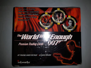 James Bond 007 the World is Not Enough Trading Cards Factory Sealed box