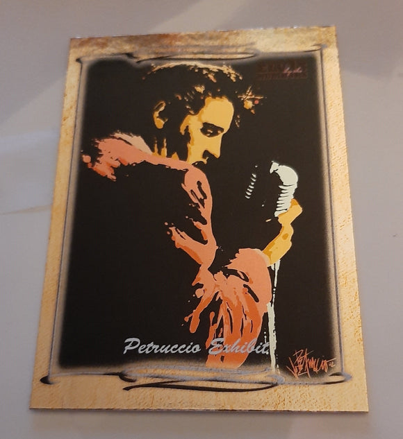 2008 Press Pass Elvis By The Numbers Petruccio Exhibit card PE-6