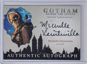 Gotham Season 2 Michelle Veintimilla as Firefly Autograph card MV2