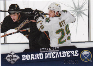 Steve Ott 2012-13 Limited Board Members card BM-20 #d 084/199