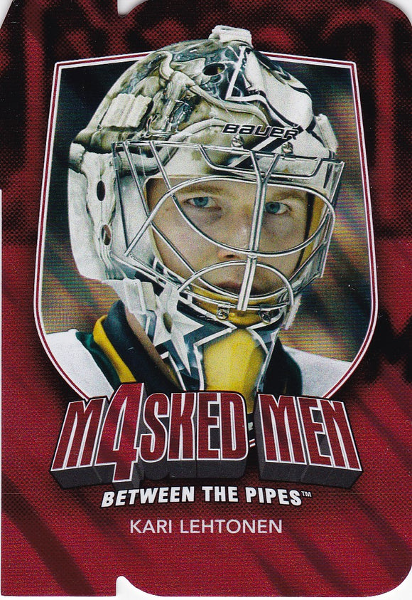 Kari Lehtonen 2011-12 Between The Pipes Masked Men 4 card MM-26 Ruby