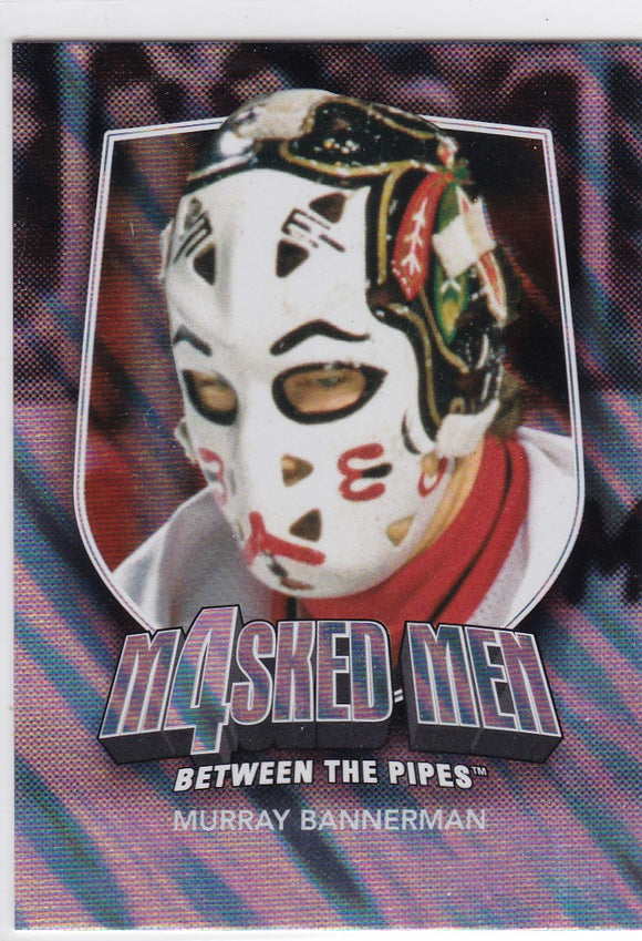 Murray Bannerman 2011-12 Between The Pipes Masked Men 4 card MM-33 Silver