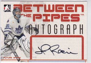 J-F Racine 2006-07 Between The Pipes Autograph card A-JFR
