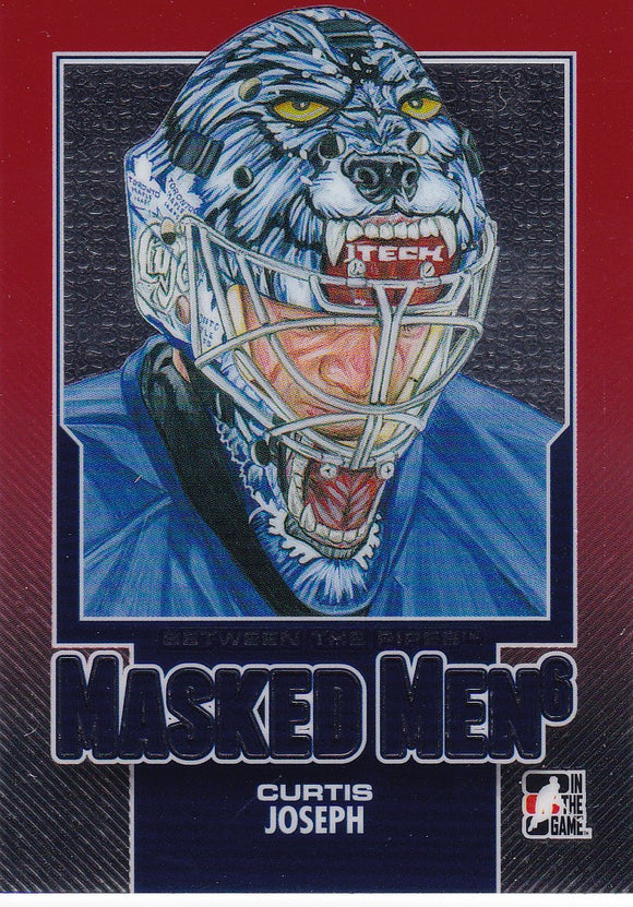 Curtis Joseph 2013-14 Between The Pipes Masked Men 6 card MM-34