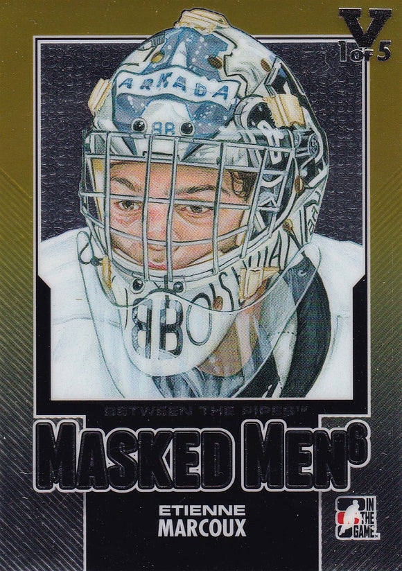 Etienne Marcoux Final Vault 2013-14 Between The Pipes Masked Men 6 card MM-20 #d 1 of 5