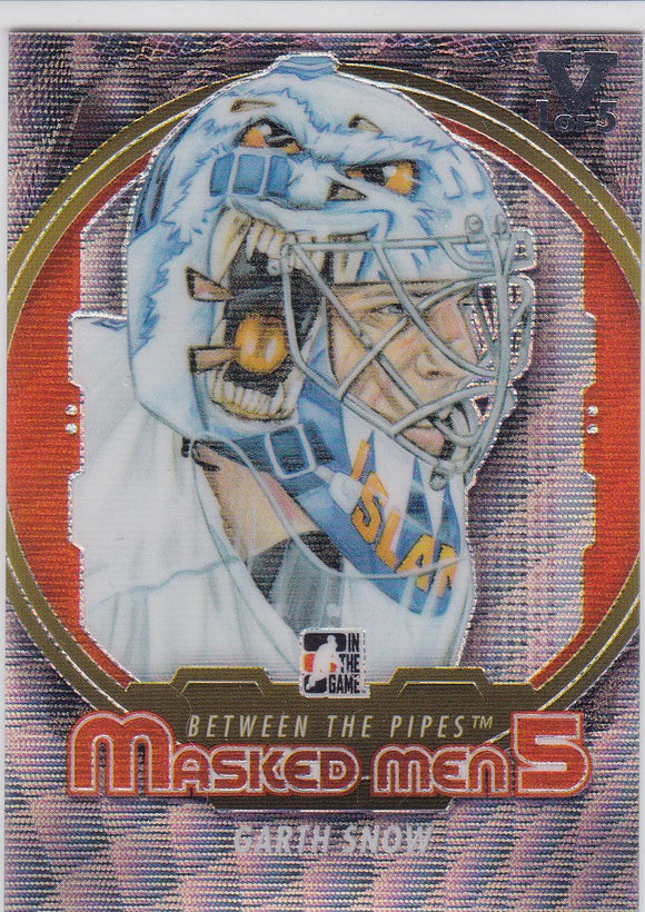 Garth Snow Final Vault 2012-13 Between The Pipes Masked Men 5 card MM-05 1 of 5