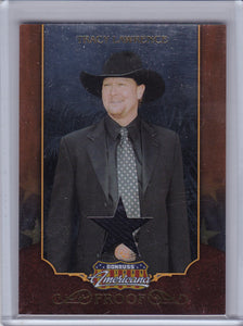 Tracy Lawrence 2009 Americana Swatch Relic card #47 Proof #d 23/25