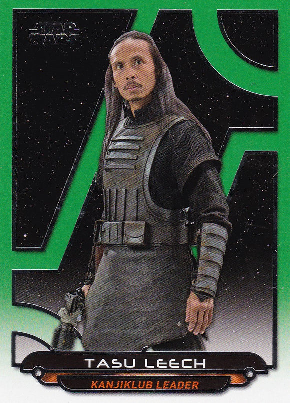 Star Wars Galactic Files Reborn card TFA-17 Green Parallel #d 154/199