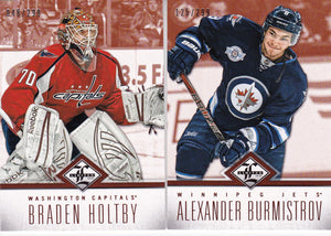 2012-13 Panini Limited Hockey base cards #d /299 Choose your numbers