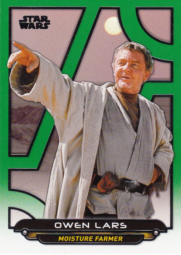 Star Wars Galactic Files Reborn card ANH-11 Green Parallel #d 174/199