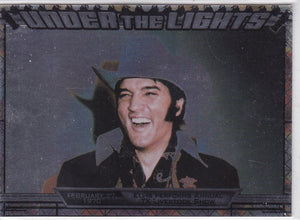 2010 Press Pass Elvis Milestones Under The Lights insert card UTL 3/12