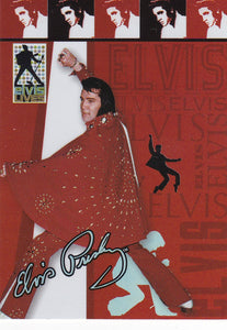 2006 Press Pass Elvis Lives Fashion Foil insert card 5/12