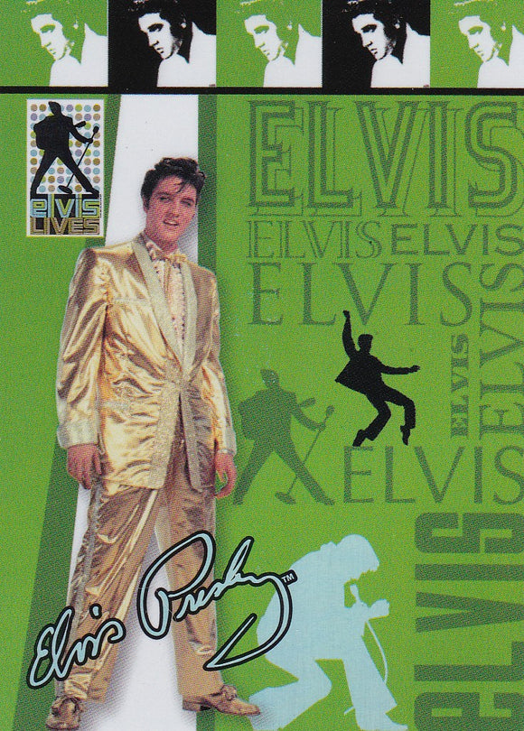 2006 Press Pass Elvis Lives Fashion Foil insert card 1/12