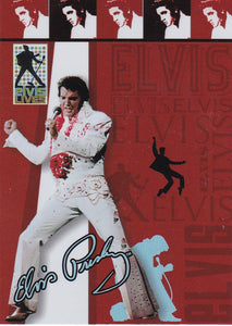 2006 Press Pass Elvis Lives Fashion Foil insert card 10/12