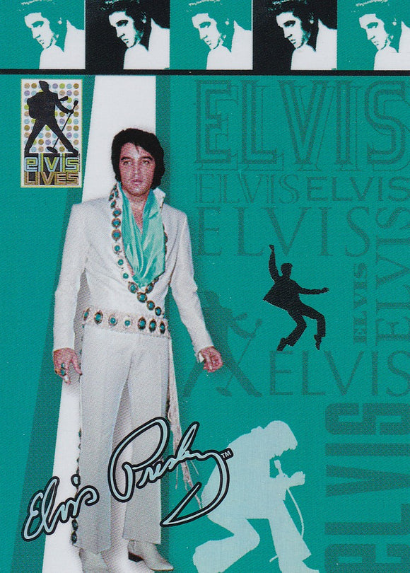 2006 Press Pass Elvis Lives Fashion Foil insert card 7/12