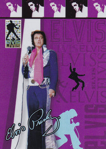 2006 Press Pass Elvis Lives Fashion Foil insert card 12/12