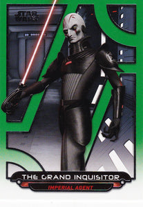 Star Wars Galactic Files Reborn card REB-7 Green Parallel #d 047/199