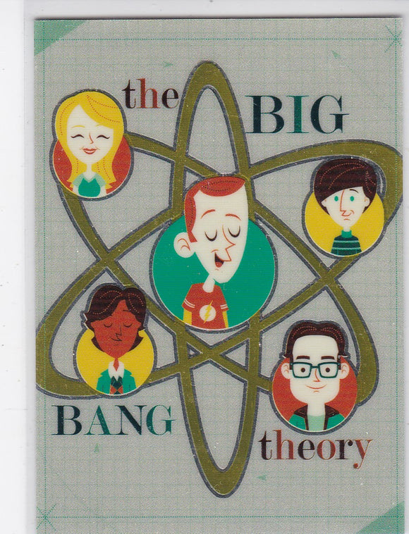 The Big Bang Theory Season 6 & 7 Artist Series Card 01 Cryptomium Parallel