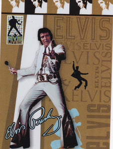 2006 Press Pass Elvis Lives Fashion Foil insert card 11/12
