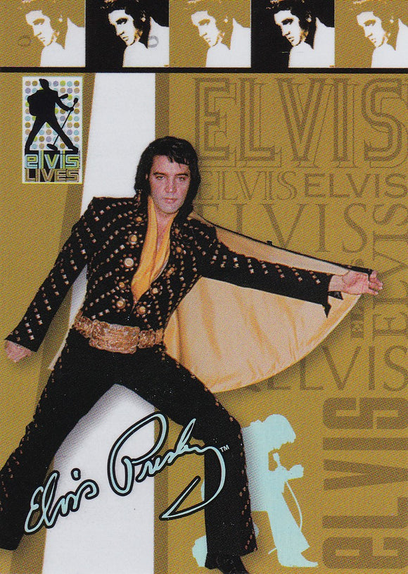 2006 Press Pass Elvis Lives Fashion Foil insert card 8/12