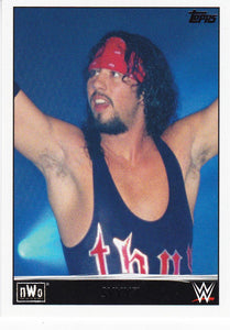 Syxx 2015 Topps WWE NWO Tribute card #34 of 40
