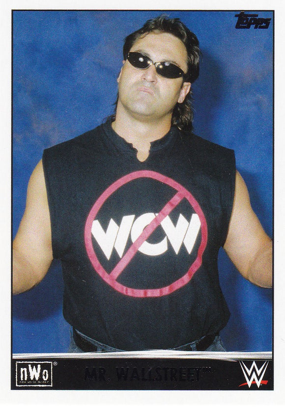Mr. Wallstreet 2015 Topps WWE NWO Tribute card #36 of 40