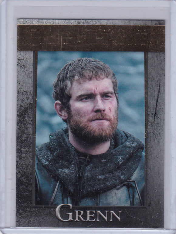 Game Of Thrones Season 4 Grenn card #54 Gold Parallel #d 148/150