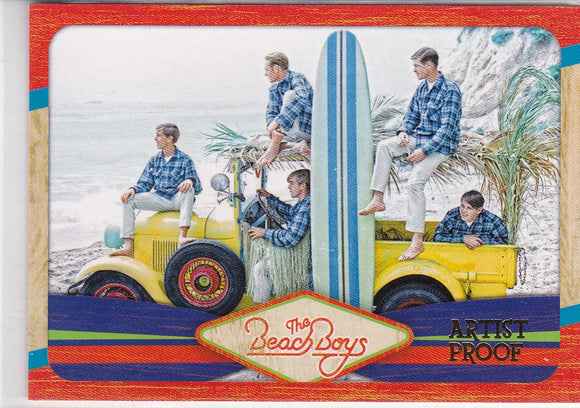 2013 Panini The Beach Boys card 34 Artist Proof #d 20/99
