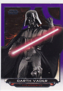 Star Wars Galactic Files 2018 card ROTS-19 Darth Vader Purple #d 55/99